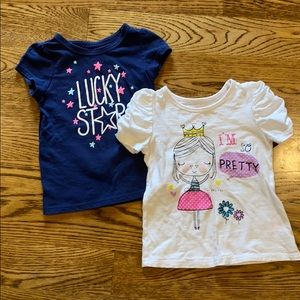 Toddler girl T-shirts size 3T